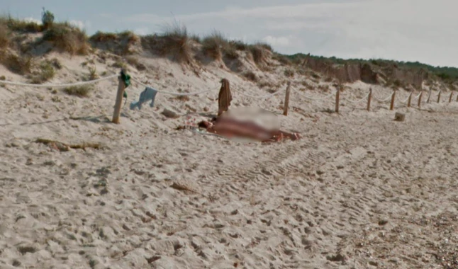 Google Maps Generates Controversy After Capturing A Nude Couple On The Beach And Not Censoring Their Private Photos