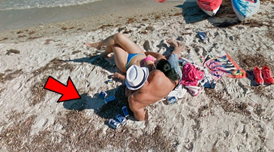 Google Maps Zoom In As A Couple Who Were In An Intimate Moment And Discover A Surprising Secret