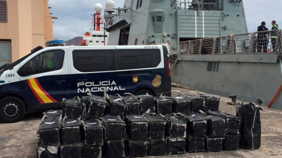 Government Of The Canary Islands Thrilled For The Success Of A Serious Blow It Made To Drug Trafficking