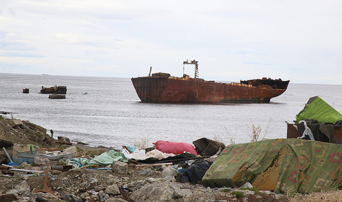 How Long Does it Take for a Boat to Disappear with More Than a Thousand Tons of Pure Iron?