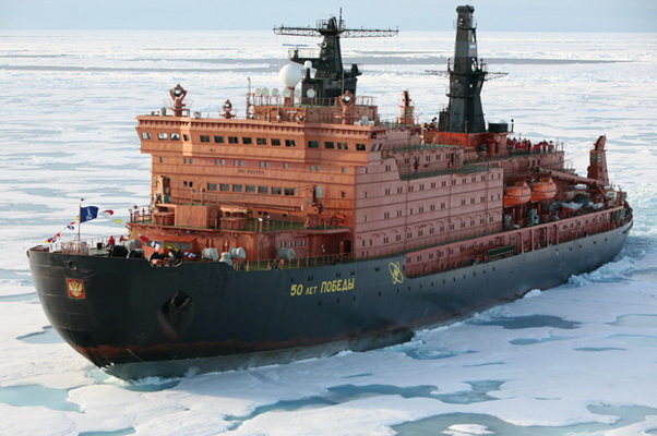 """Icebreaker """"50 years of Victory"""" Will Make Five Tourist Flights to the North Pole in 2019"""