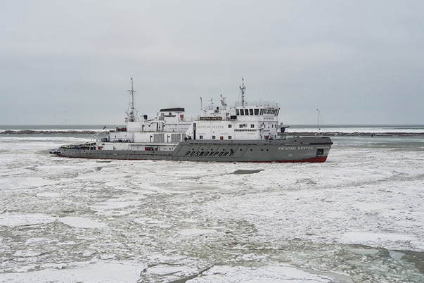 "Icebreaker ""Captain Krutov"" Took Part in the Rescue Operation"