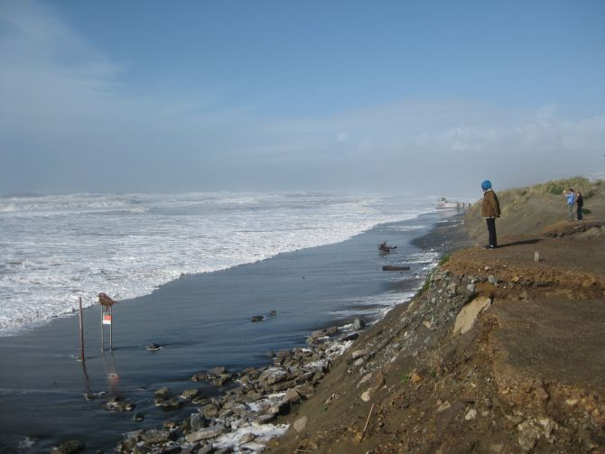 Increased Frequency Of Severe Coastal Flooding Due To Global Climate Change
