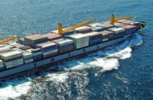 Iranian container ship