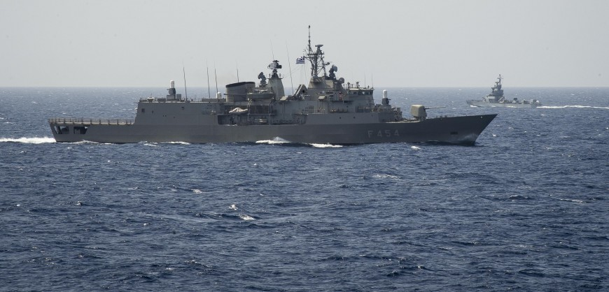 Israel Completes Noble Dina 2019 Trilateral Exercise with US and Greek Naval Forces in the Mediterranean