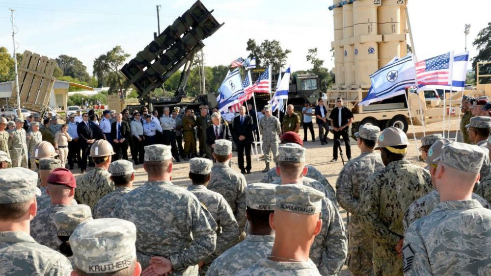 Israel and the United States Conduct Joint Military Exercises