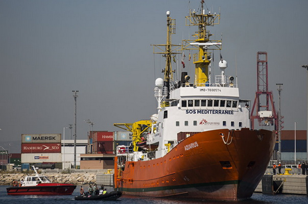 Italy and Malta Refused to Accept the Vessel Aquarius with Migrants
