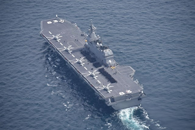 Japan Will Deploy a helicopterCarrier in the South China Sea and the Indian Ocean