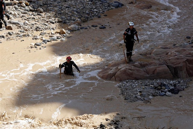 Jordan's Education and Tourism Ministers Resign Over Floods Last Week