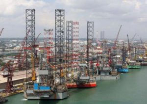 Keppel Offshore rigs