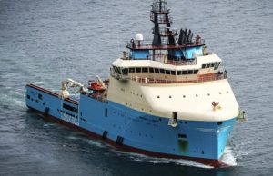 Maersk Supply vessel