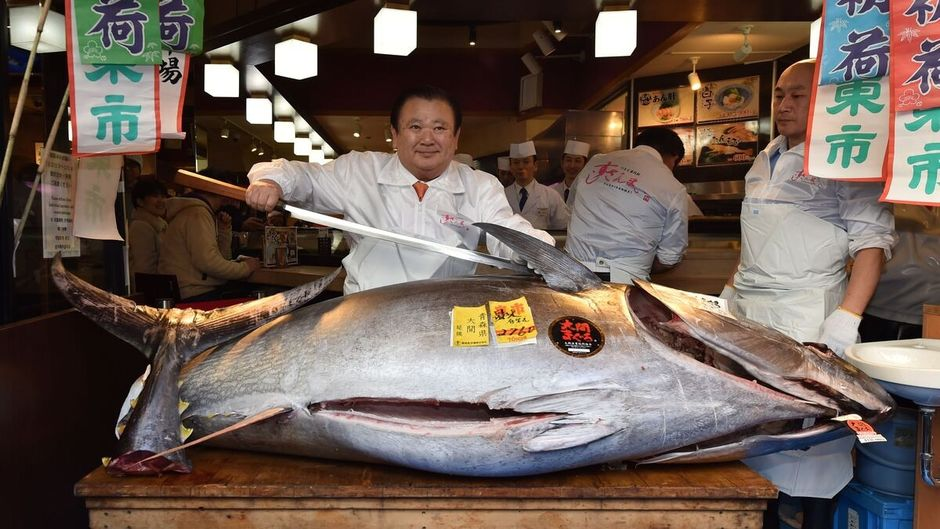 Man Pays $2 Million For A Giant Tuna Because He Wants His Customers To Eat The Best