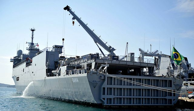 Marina de Brasil Expands Cooperation with the Combined Maritime Forces