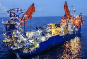 McDermott offshore ship