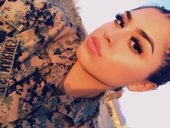 Meet the Military Latina That Lights Up The Net With Her Infectious Curves