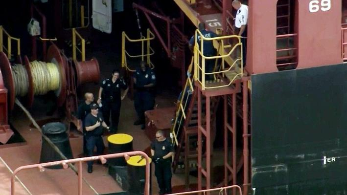 More Than 16 Tons Of Cocaine Seized On A Ship In Philadelphia