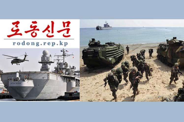 New Denunciations of DPRK to Militarism of South Korea