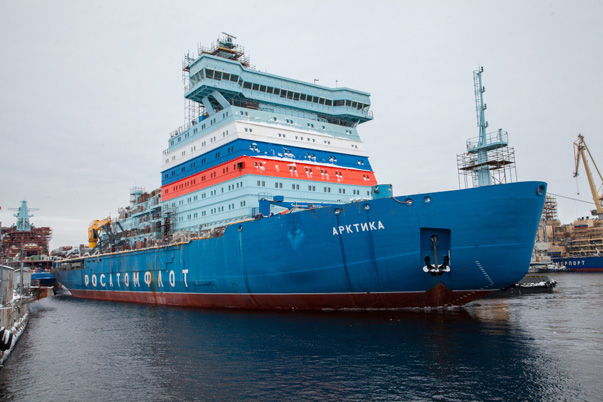 New Icebreaker Arktika To Be Ready To Go In 2020