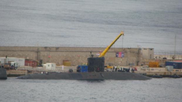 New Scale of a Nuclear Submarine in Gibraltar in Less Than a Week