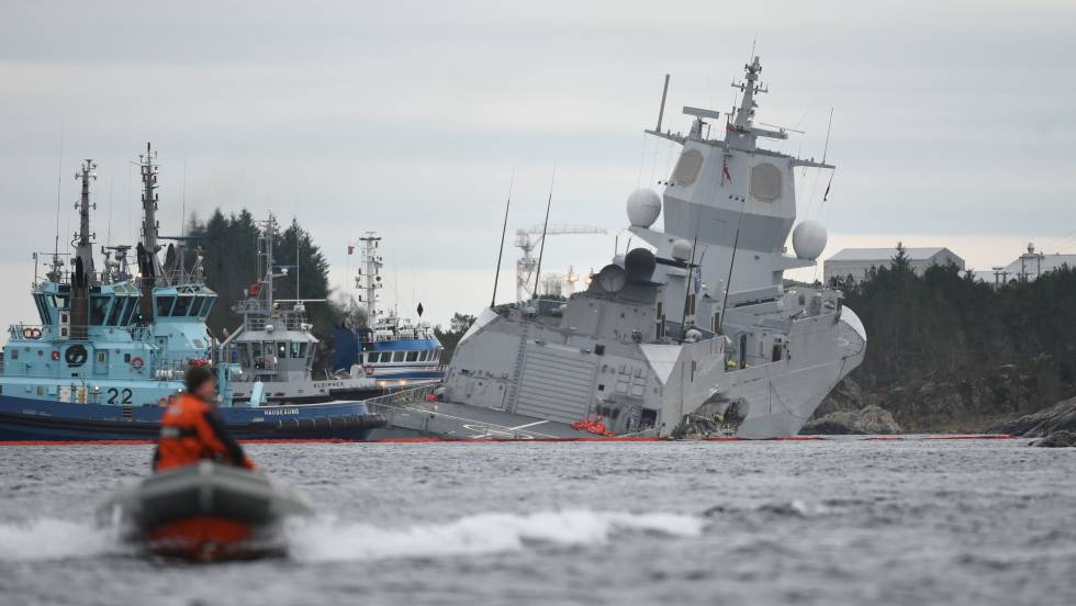 "Norway Blames Navantia for the Collapse of a Frigate Due to a ""Critical"" Design Failure"