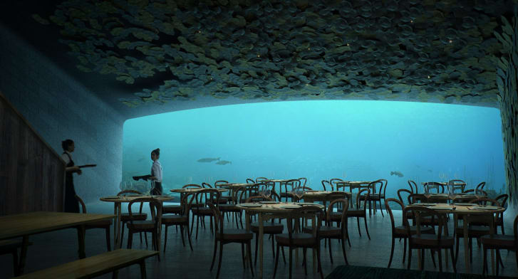 Norway will open Europe's first underwater restaurant