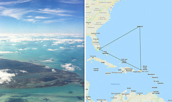 Once again a ship mysteriously disappears in the Bermuda Triangle