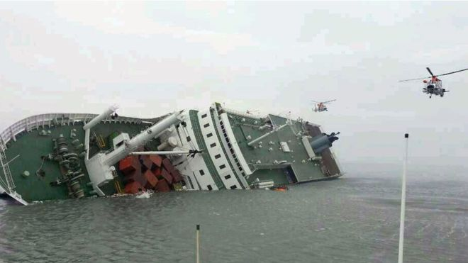 Ordered To Compensate Survivors of Shipwreck of Ferry In South Korea