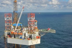 Paragon Offshore rig