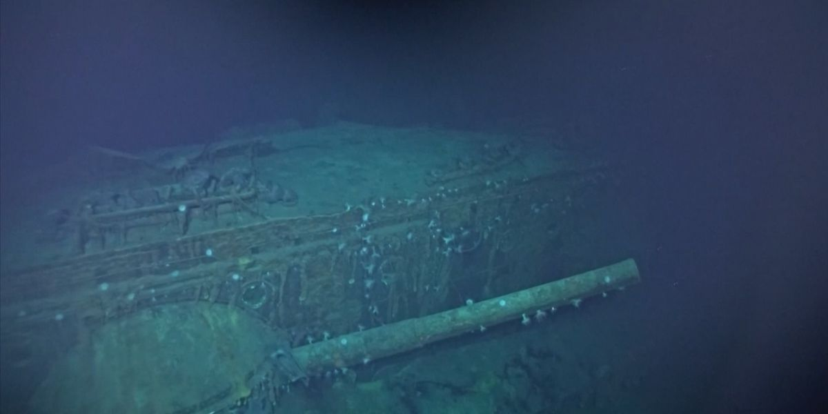 Photos Of The Japanese Aircraft Carriers Sunk In The Battle of Midway Found At The Bottom Of The Pacific