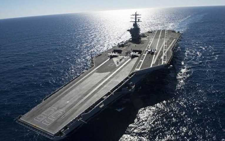 Report says that US aircraft carrier was harassed by UFO