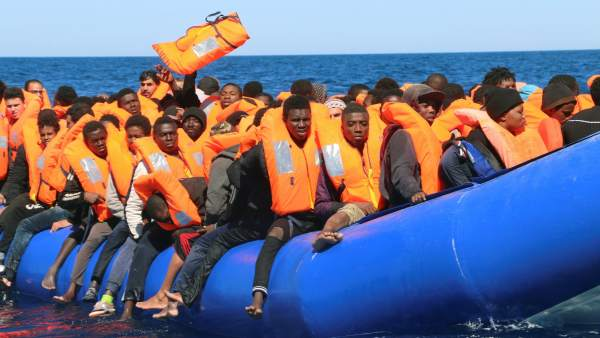 Rescue of Migrants from Libia