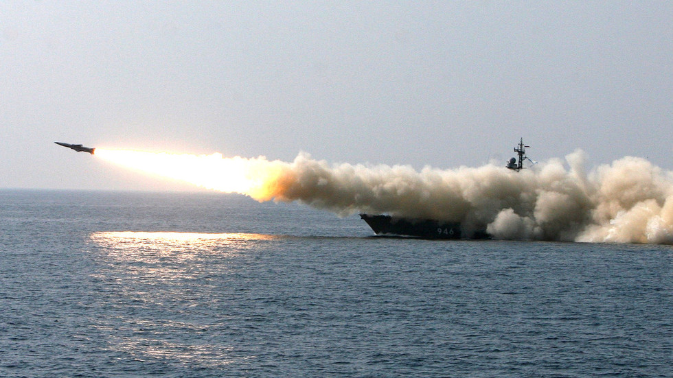 Russian Warships Fire A Rain Of Missiles Amid Massive Drills In Far East Waters
