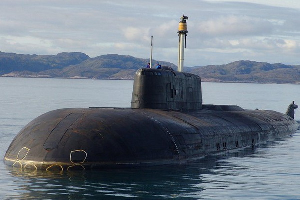 Seaman of the Black Sea Fleet Conducted an Operation on Board a Submarine Underwater