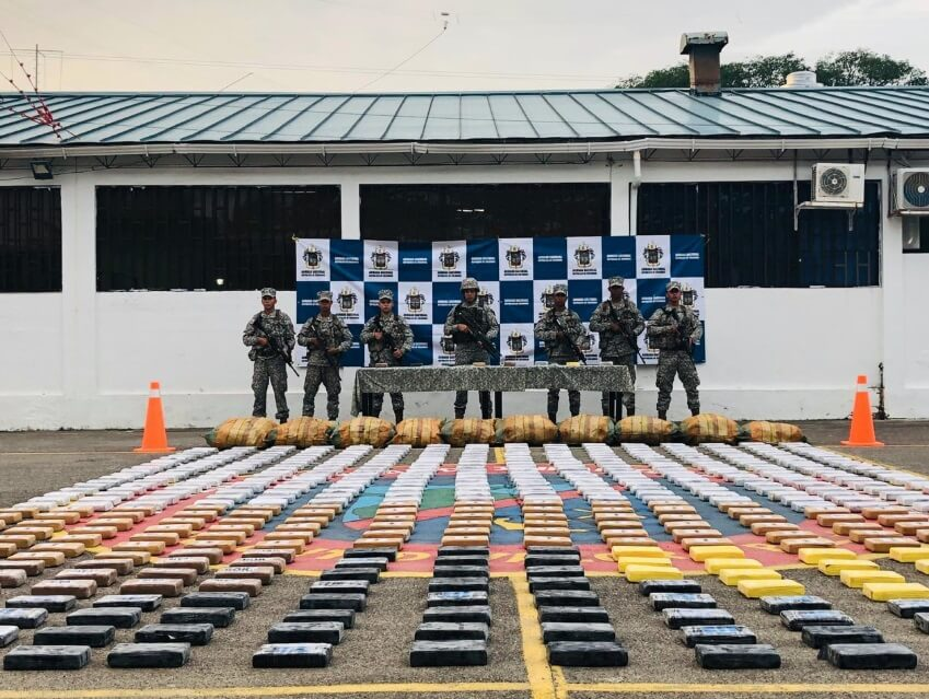 Seized In Columbia; 1,193 kilos of Cocaine Owned by Drug Trafficking Gangs
