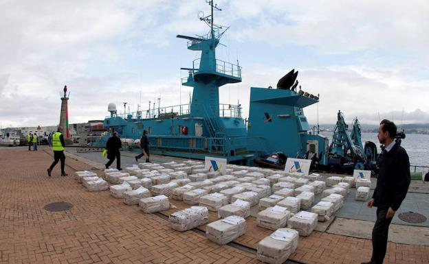 Seven Crew Members Of The Ship Ondarroa Sent To Prison For Transporting 2,500 Kilos Of Cocaine