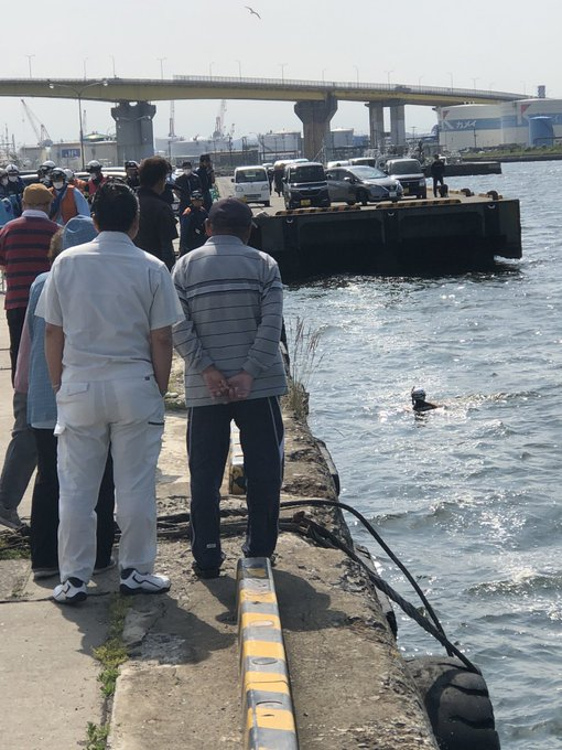 Shooting a Fishing Video She Sees A Woman's Corpse Floating In A Port