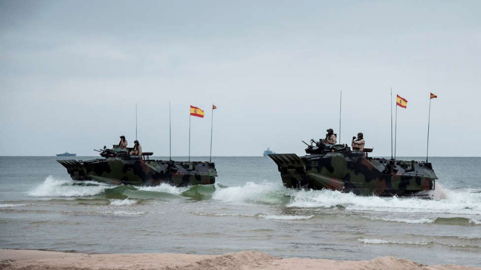 Simulation Of 11,500 Soldiers And 50 Ships In Defense Of The Baltic Countries