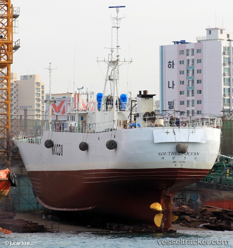 Southern-Ocean Korean Fishing Boat