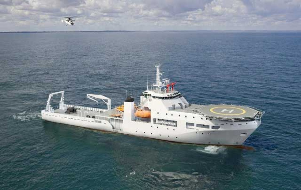 Submarine Rescue Vietnamese Invest in 4,000-ton Vessel