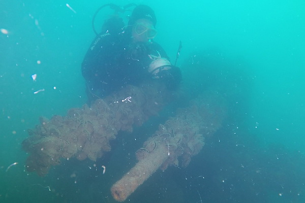 Sunken German Cargo Ship Bigit