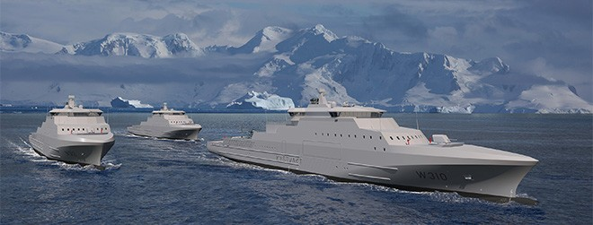THE NEW COASTGUARD VESSELS OF NORWAY