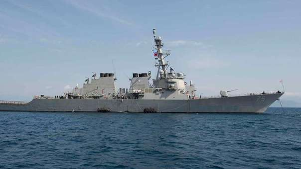 Tension Between Russia and the USA by Presence of US Destroyer Near Its Coast