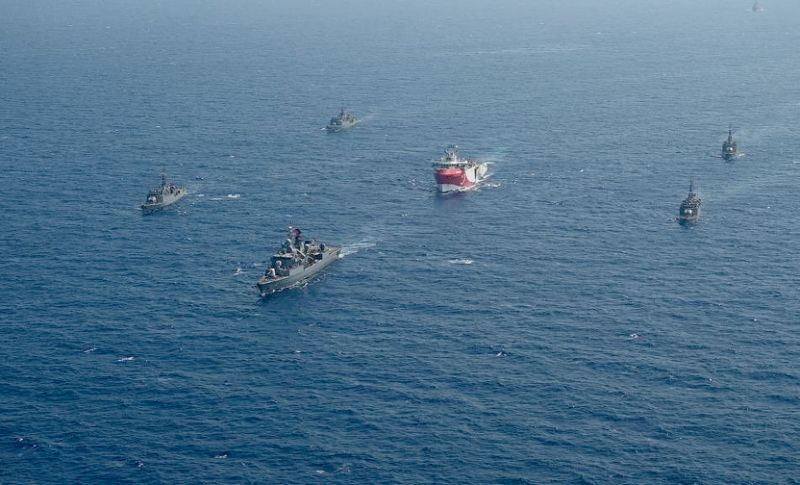 Tension Between Turkey And France Soars In The Eastern Mediterranean