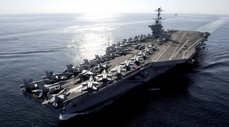 Tension in the Sea of Southern China the Beijing Navy Expelled two United States Warships1