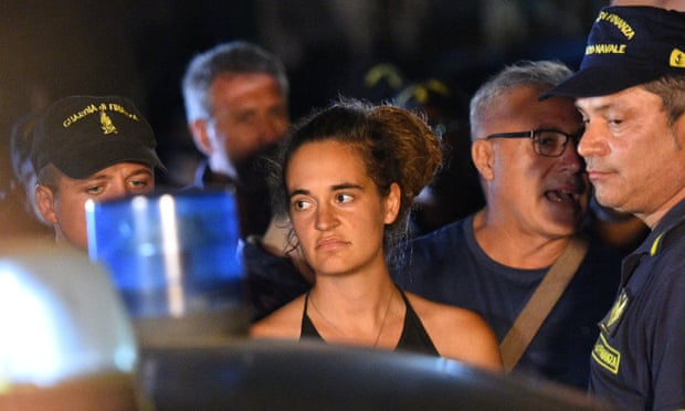 Carola Rackete was arrested after forcing her way into the Sicilian port of Lampedusa on the Sea-Watch-3 carrying 40 migrants and refugees she had rescued off Libya.  But on Tuesday, judge Alessandra Vella ruled that Rackete had been carrying out her duty to protect life and had not committed any act of violence.