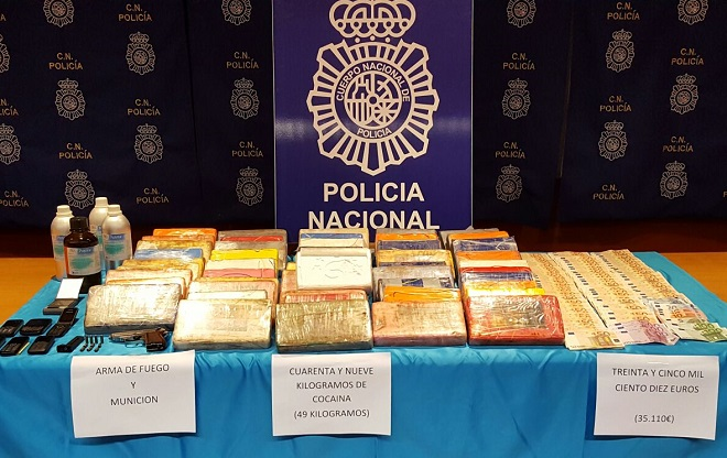 The Court Judges a Band that Involved 49 kilos of Cocaine in Lanzarote
