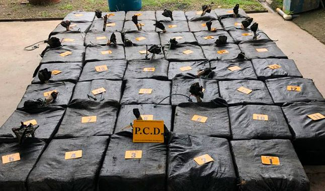 The DEA Captures Venezuelans And Colombians With Five Tons Of Cocaine In International Waters