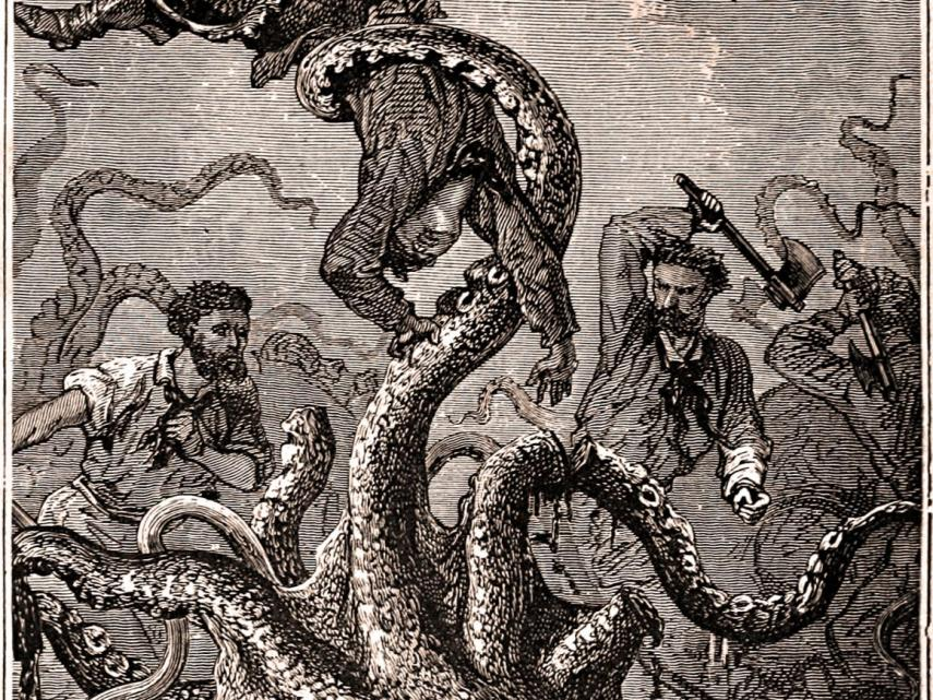The Kraken, Also Called The Beast Of The Sea, Is Real1