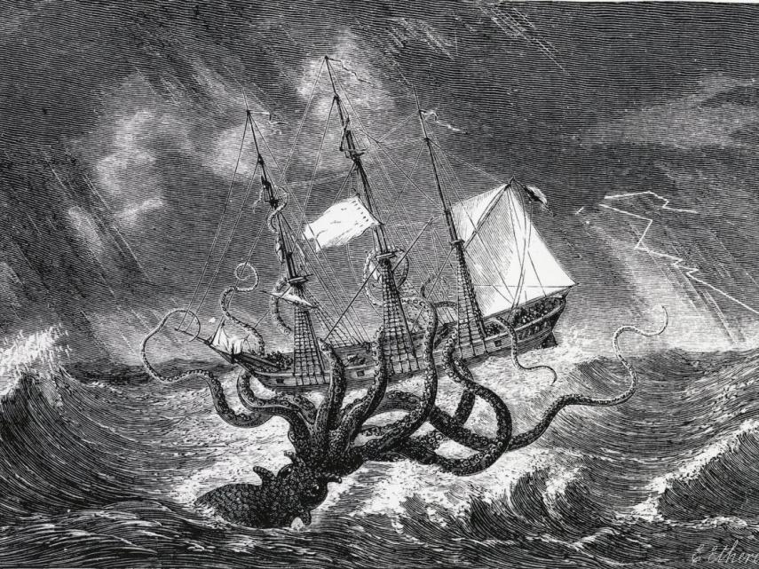 The Kraken, Also Called The Beast Of The Sea, Is Real2