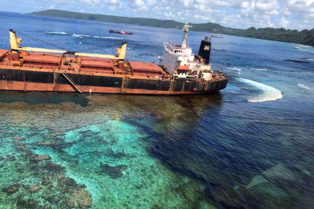 The Largest Elevated Coral Atoll On the Planet Threatened by a Landfill